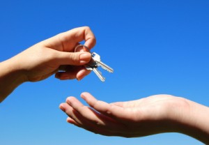 First Home Buyers in Melbourne Getting Key to New House